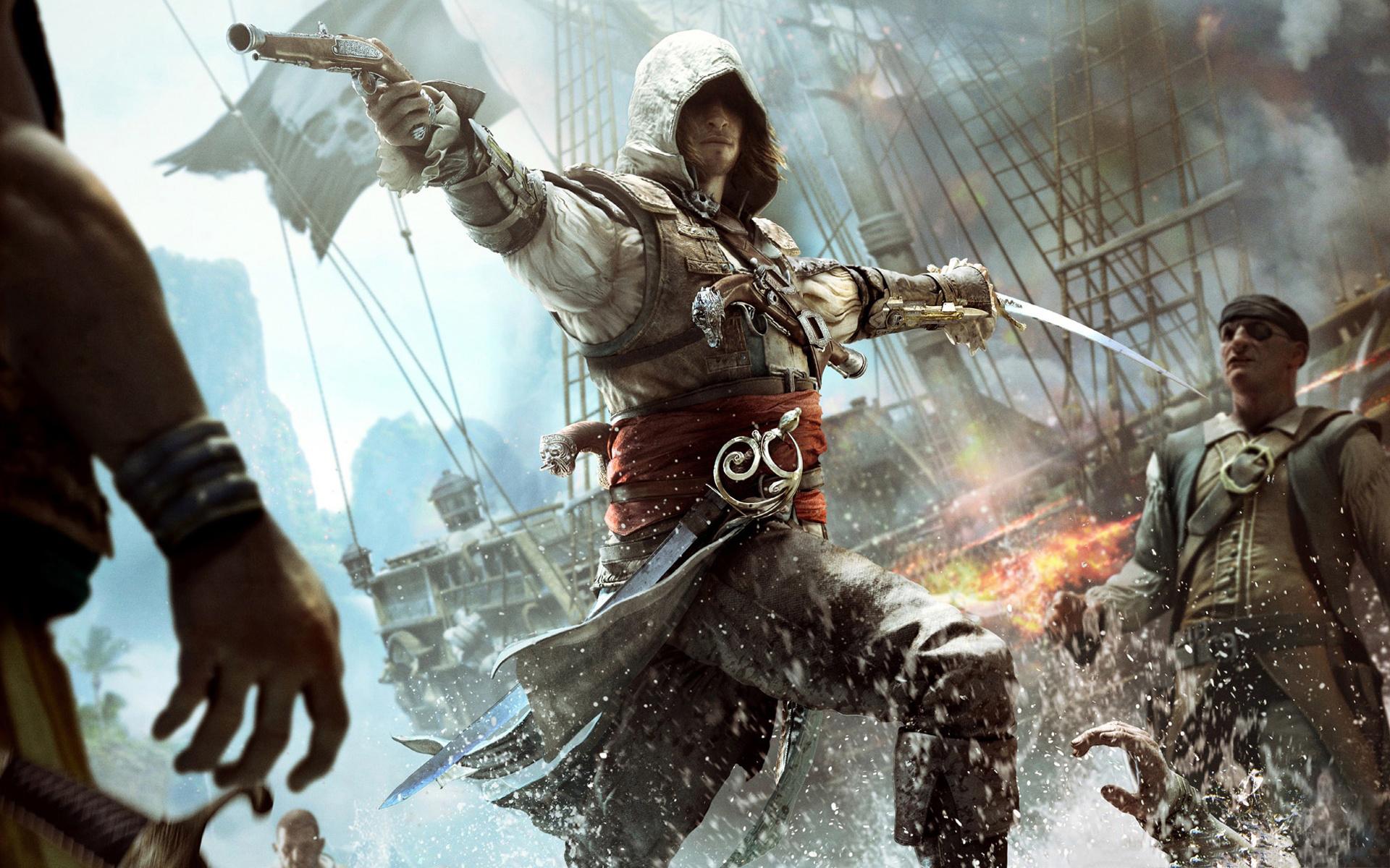 Assassins Creed 4 Multiplayer Femlae wallpaper 1920x1200