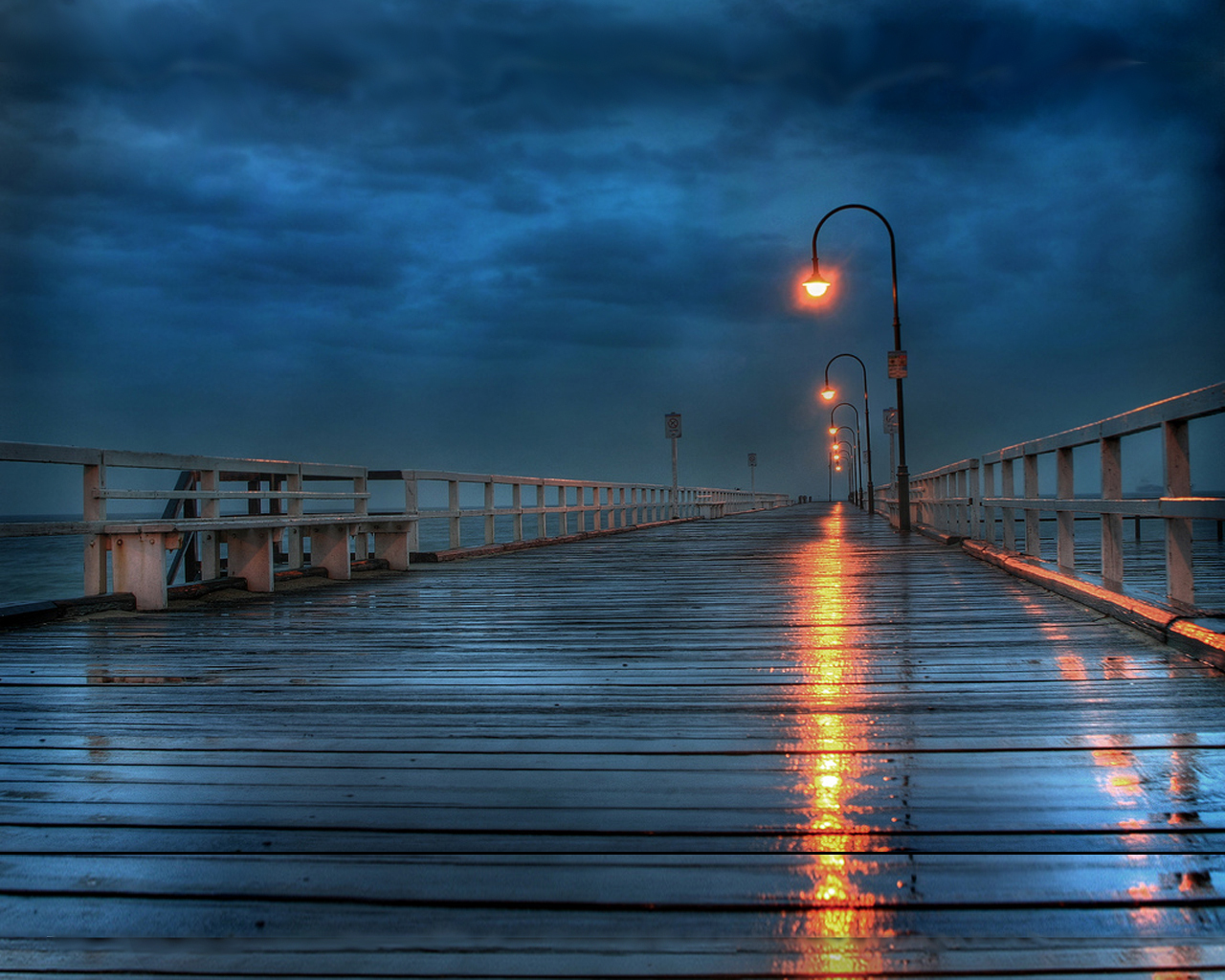 rainy deck   Beautiful Places Wallpaper 13747509 1280x1024