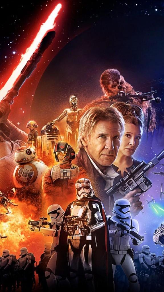Star Wars The Force Awakens Wallpaper iDownloadBlog Movie Poster Mod 576x1024