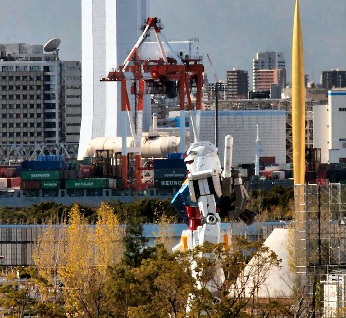 11 Life Size Gundam Statue Diver City Tokio Odaiba NEW 1114x1024