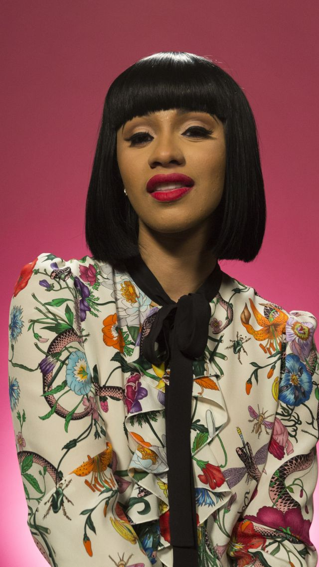 Wallpaper Cardi B photo 5k Girls 15436 640x1138