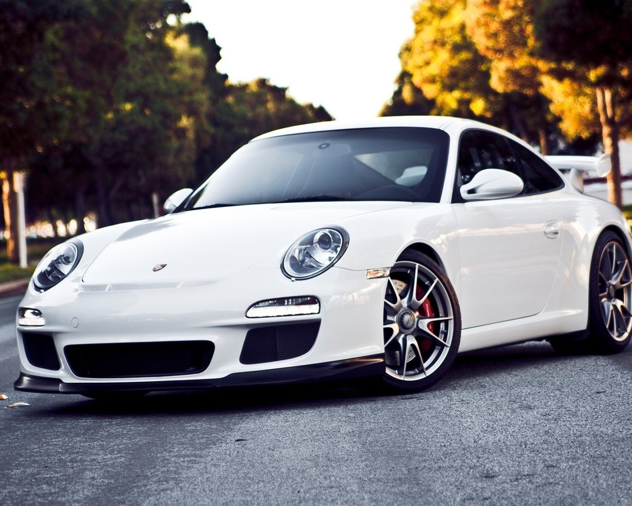 911 GT3 white supercar Wallpaper 1280x1024 resolution wallpaper 1280x1024