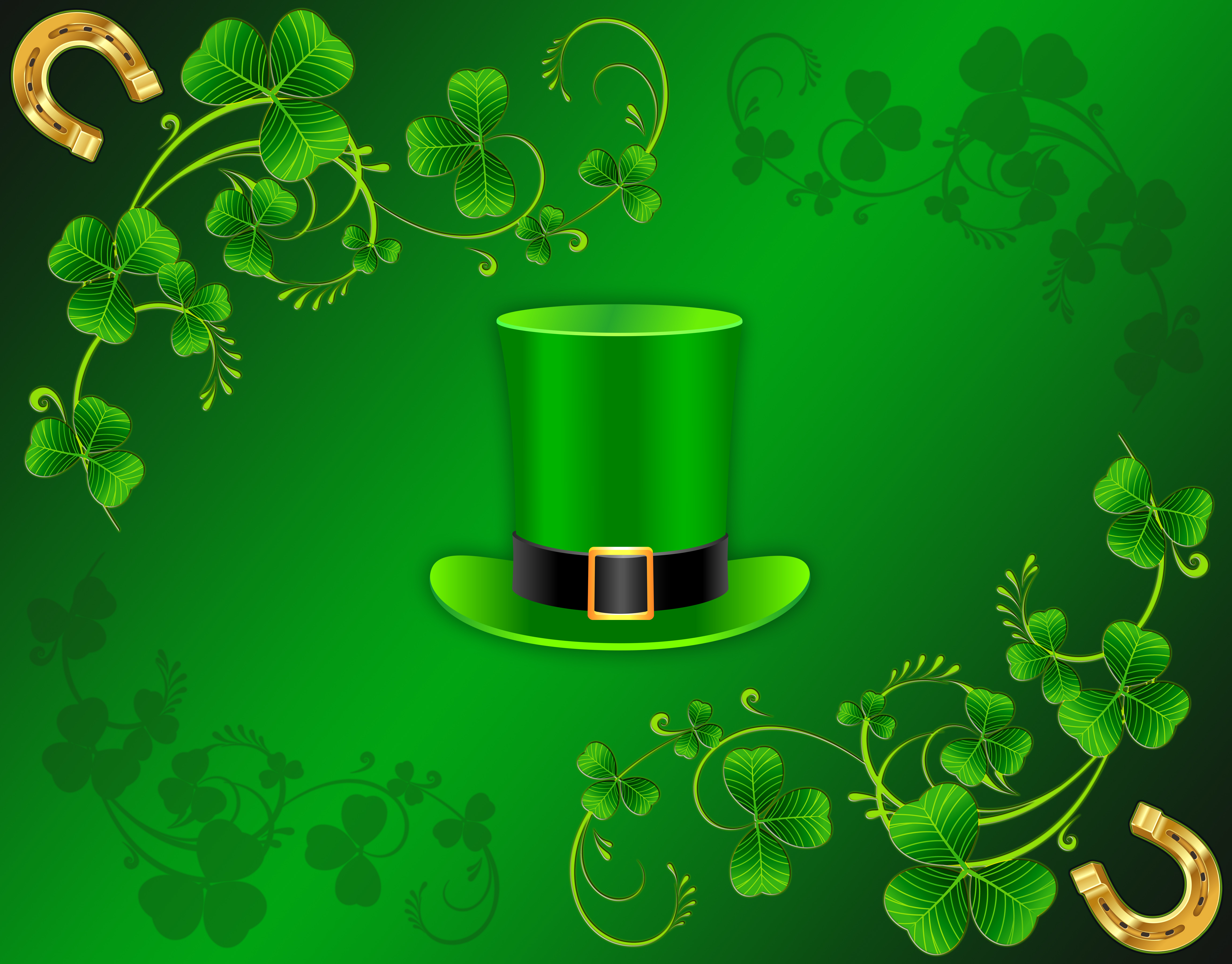St Patricks Day 4k Ultra HD Wallpaper and Background 4600x3600