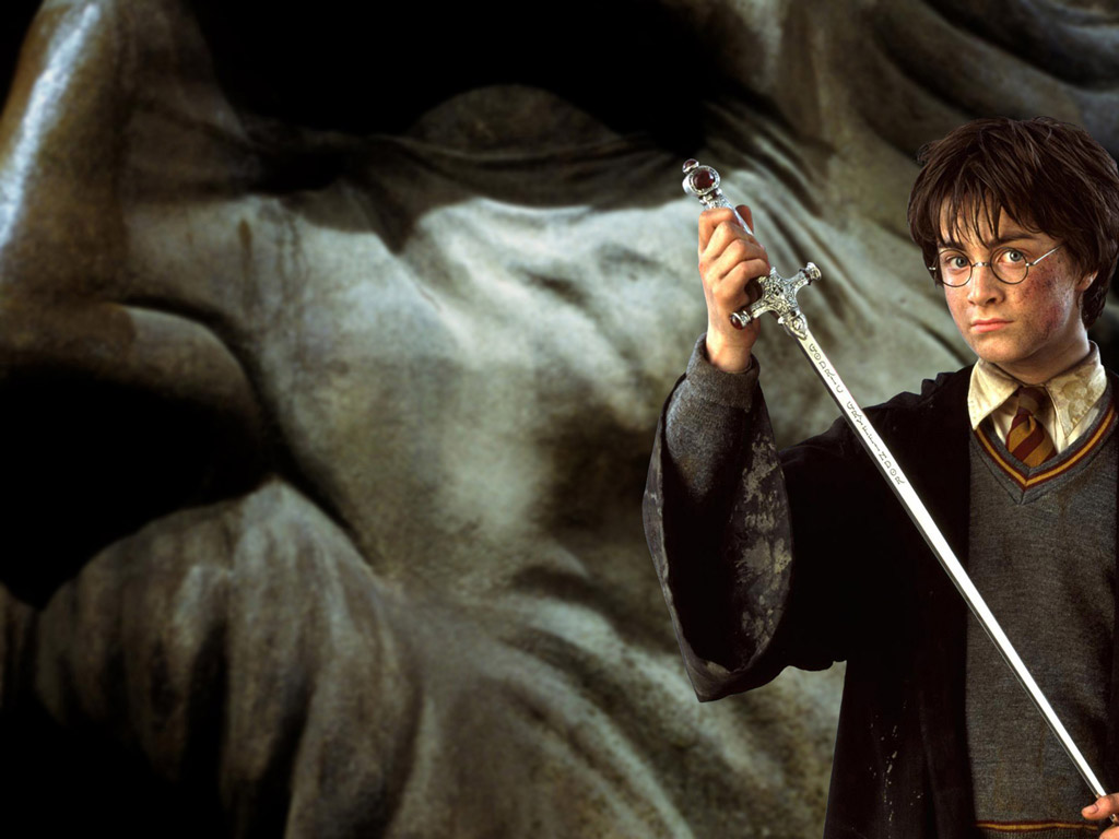 Harry Potter in the chamber of secrets wallpaper download 1024x768