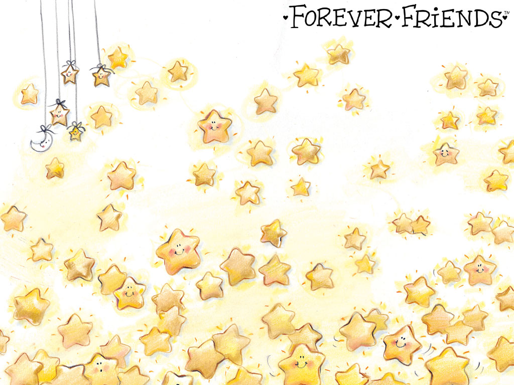 forever friends wallpaper forever friends 1024x768