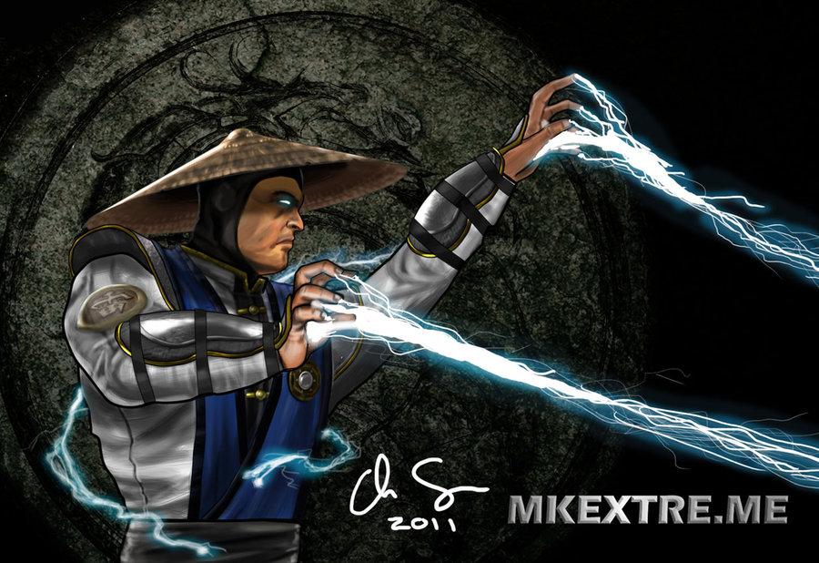 MK9 Raiden by osx mkx 900x618