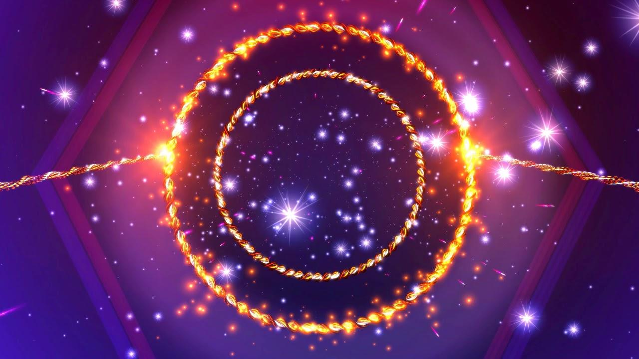 4K Live Wallpaper   Orange Sparkling Ring   Moving Background 1280x720