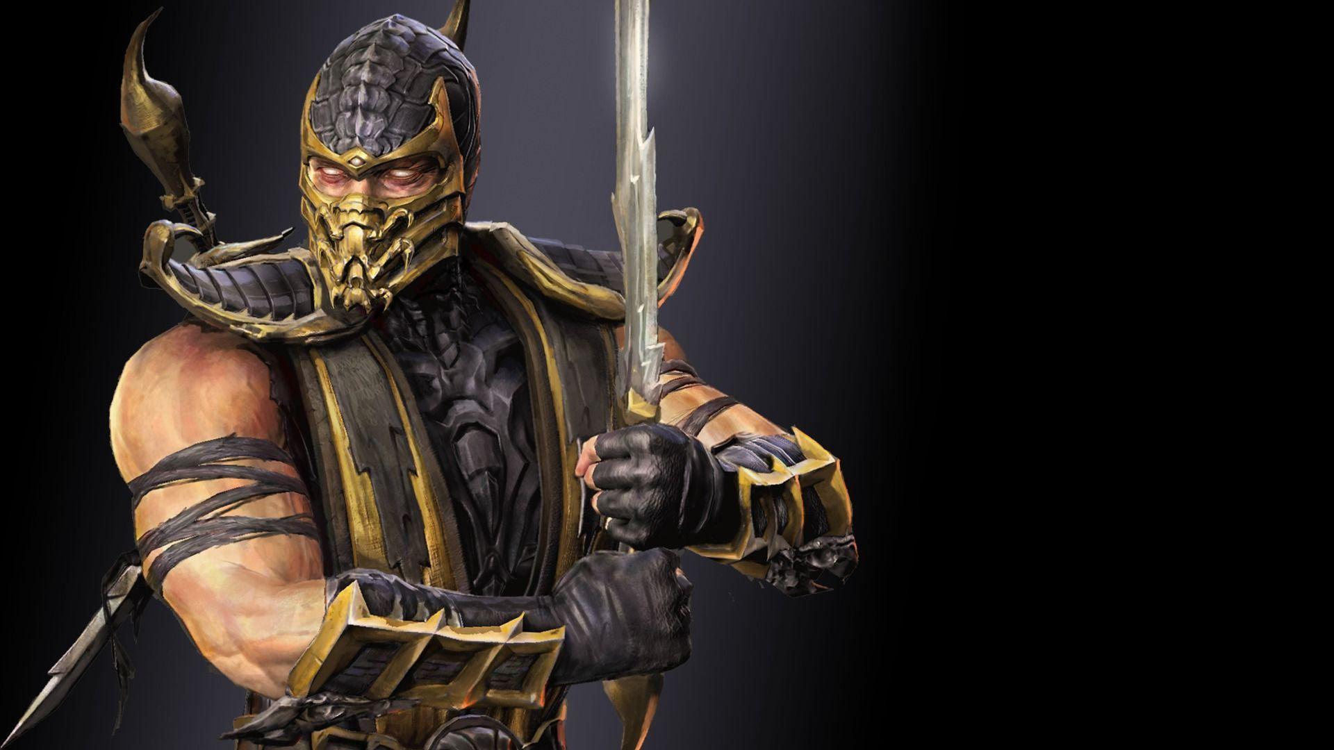 Scorpion   Mortal Kombat wallpaper 1920x1080