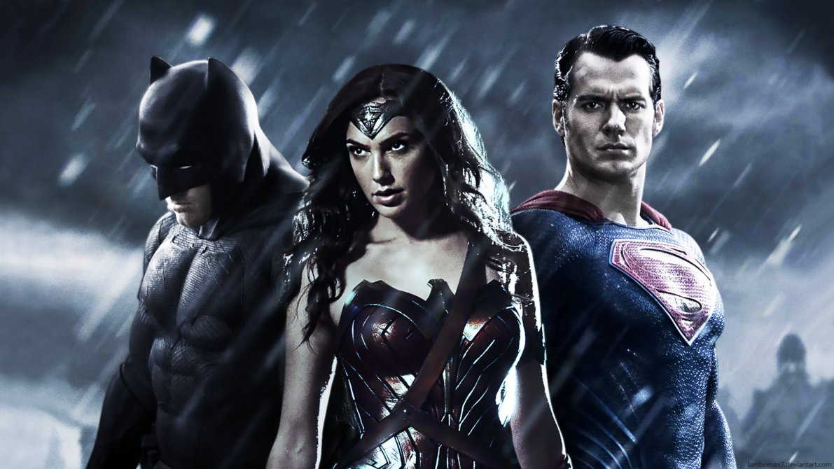 Batman v Superman   Trinity Wallpaper by LamboMan7 1191x670