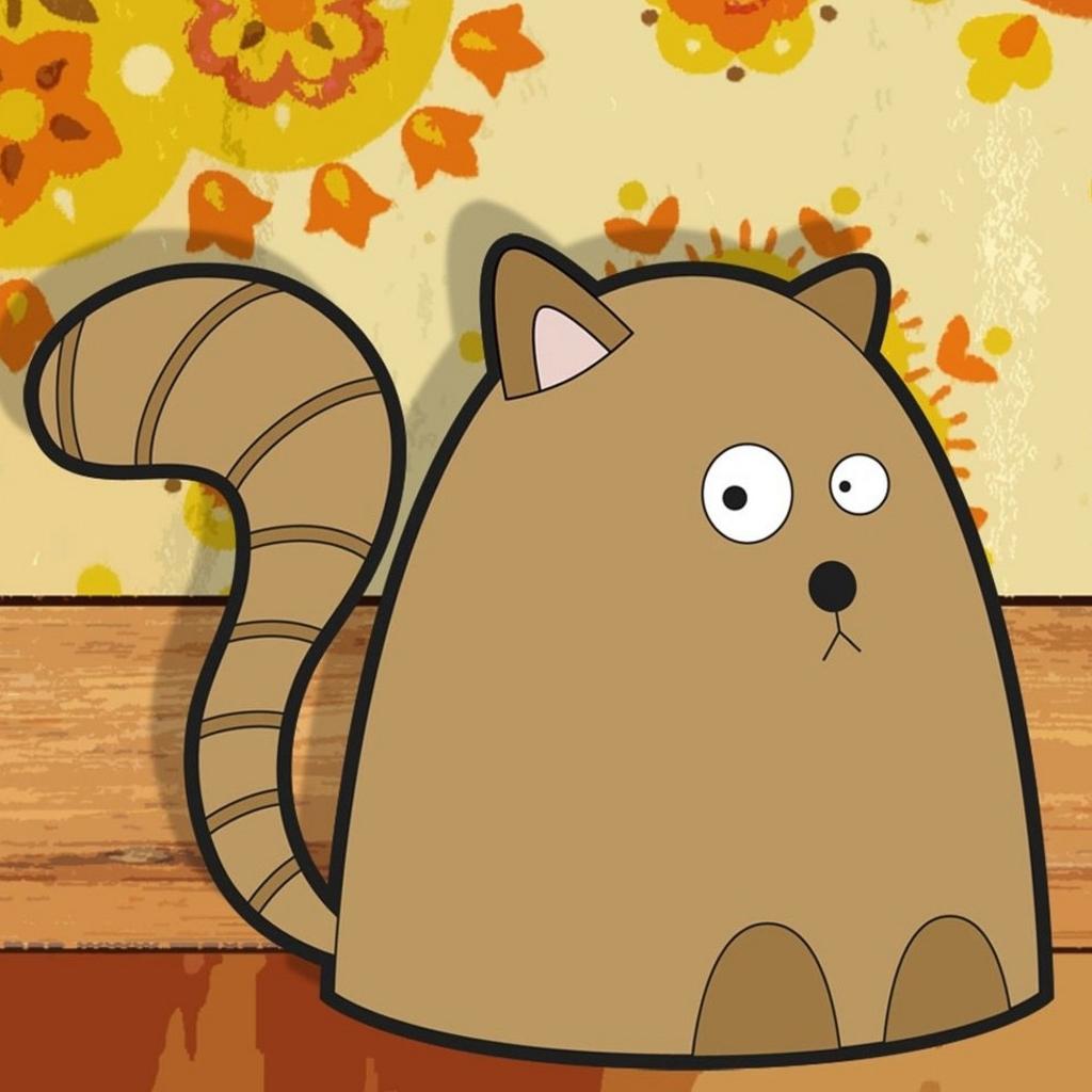 Free Download Cute Wallpaper Cartoon Cat 1024x1024 For Your Desktop Mobile Tablet Explore 46 Cute Cartoon Cat Wallpaper Cute 3d Wallpaper 3d Cute Wallpapers For Desktop Cute Animated Monster Wallpaper