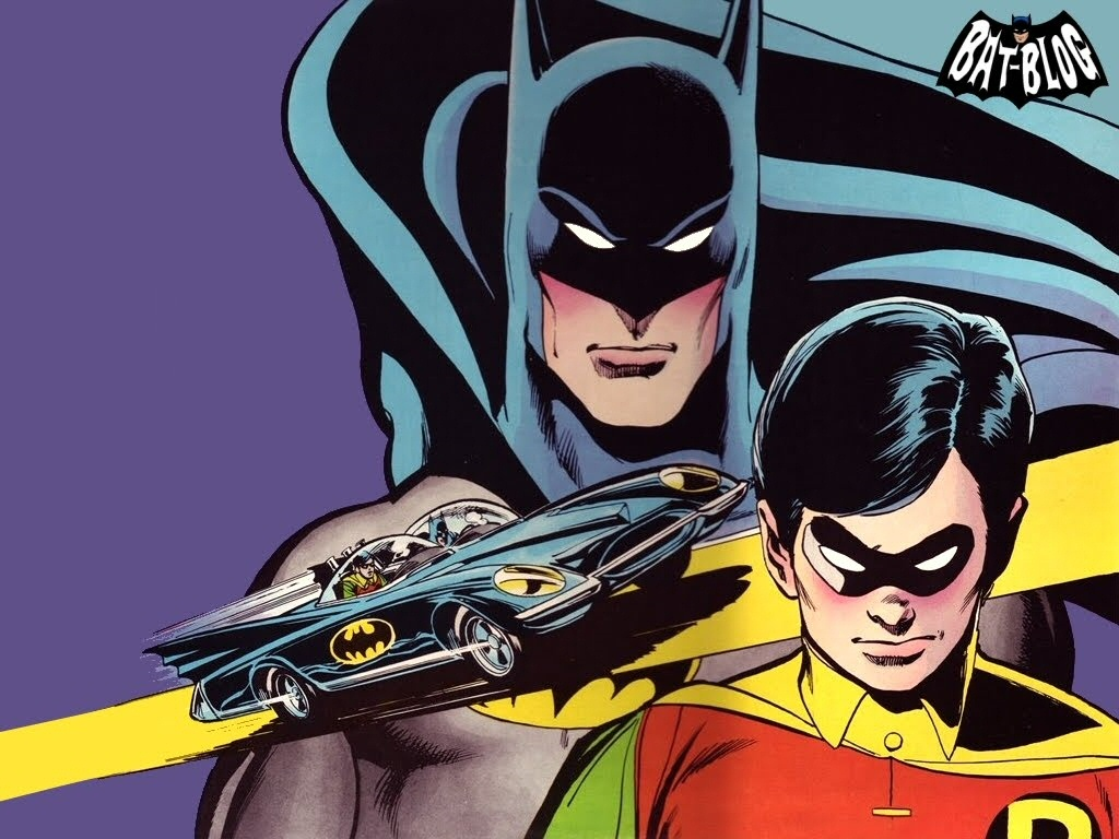 Batman & Robin Wallpaper - WallpaperSafari