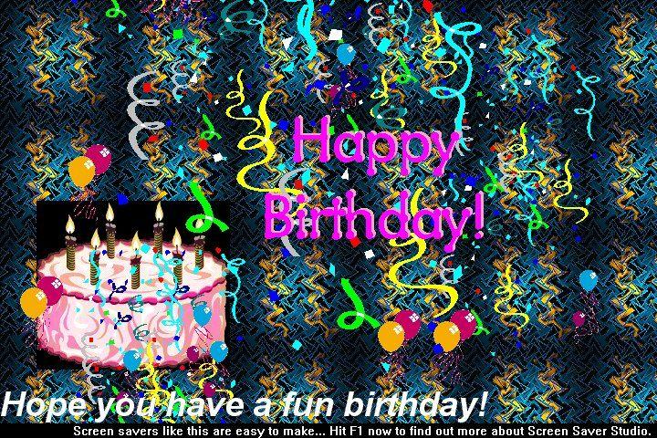 Free Birthday Wallpapers And Screensavers Wallpapersafari