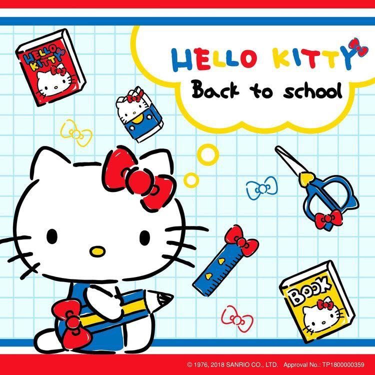 Hello Kitty back to School Hello kitty Sanrio Tema 750x750