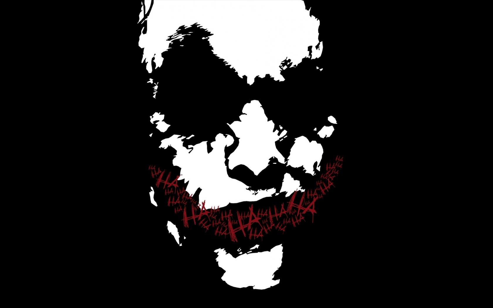 Heath Ledger as Joker vector smile wallpaper in Movies wallpapers 1680x1050