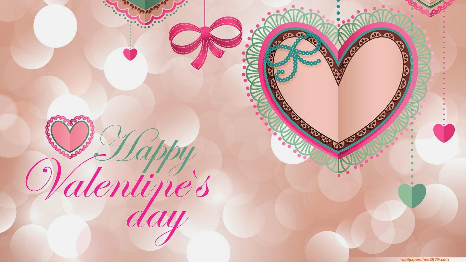 25 Ever Romantic Valentines Day Wallpapers A House of Fun 1600x900