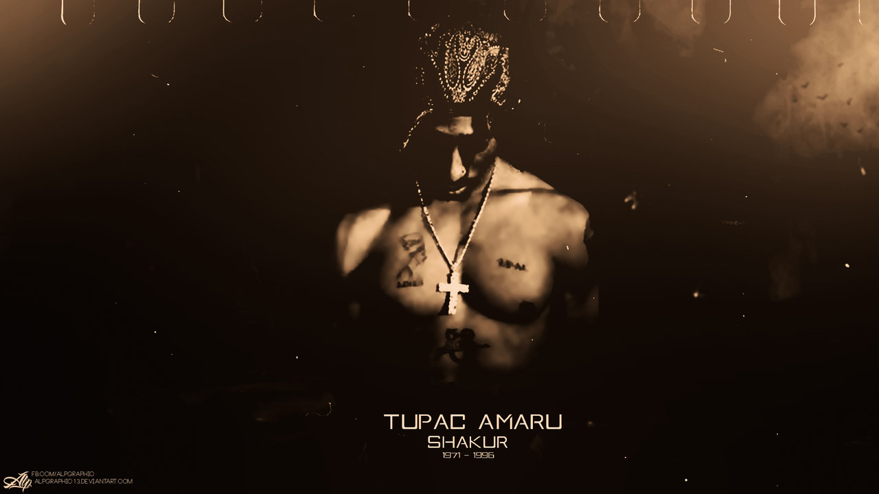 Download Tupac HD 5 background for your phone iPhone android 1280x720