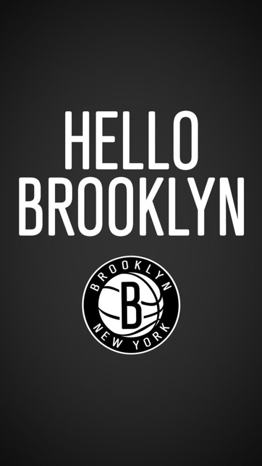 Hello Brooklyn Nets Wallpaper   iPhone Wallpapers 540x960