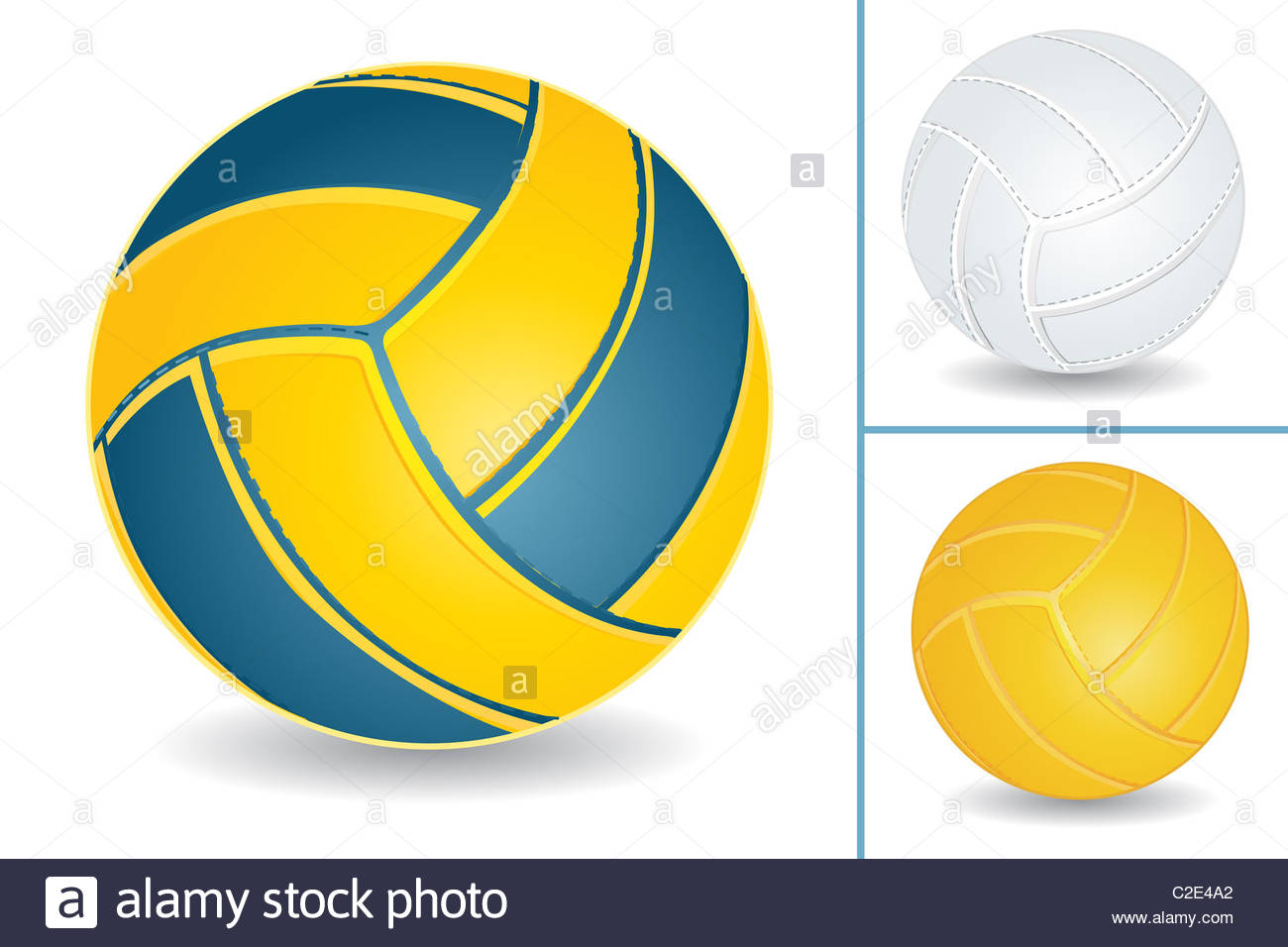 Volley ball isolated over white background Stock Photo 35960794 1300x956