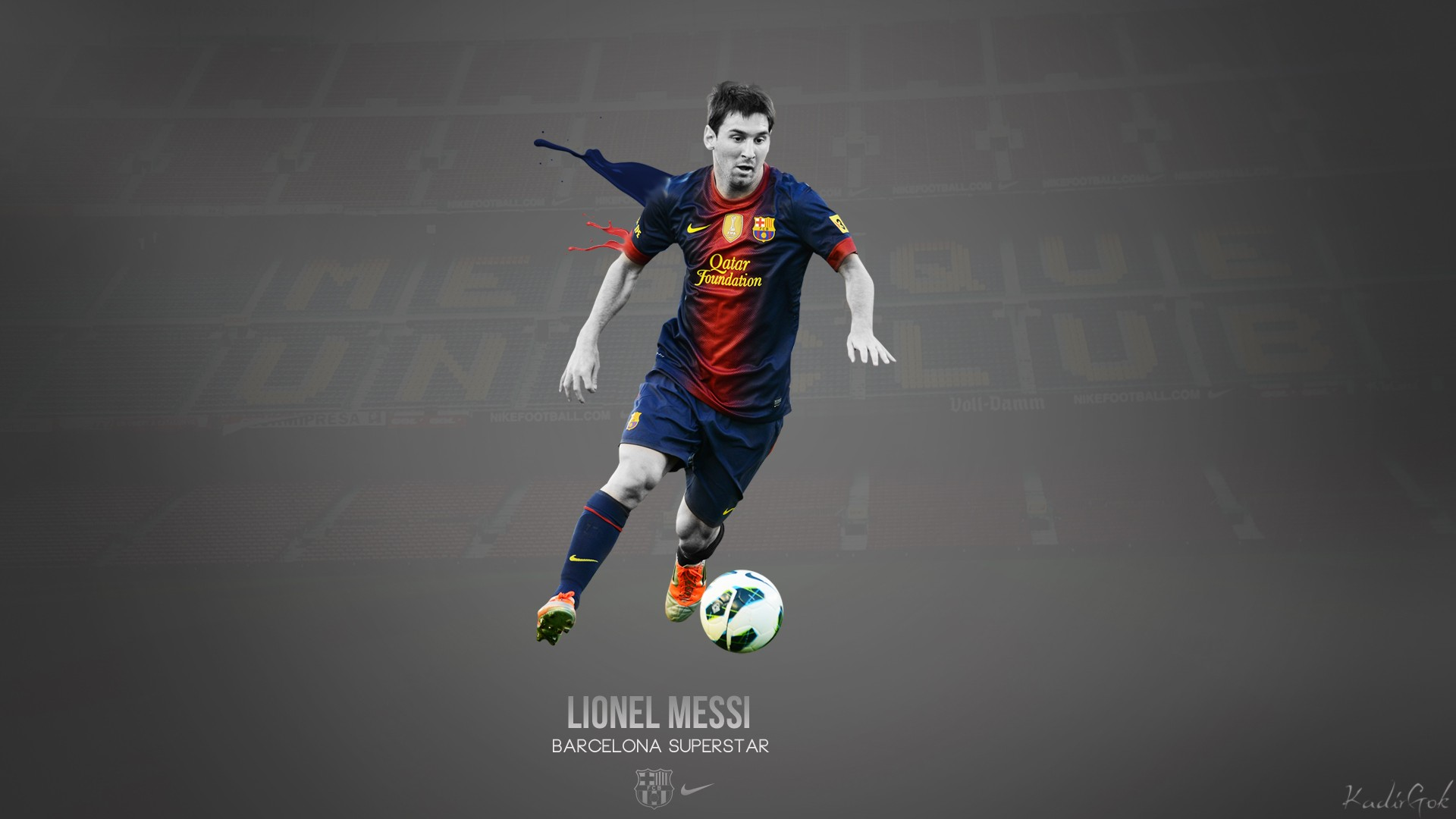 Lionel Messi Wallpaper Background Download HD 1920x1080