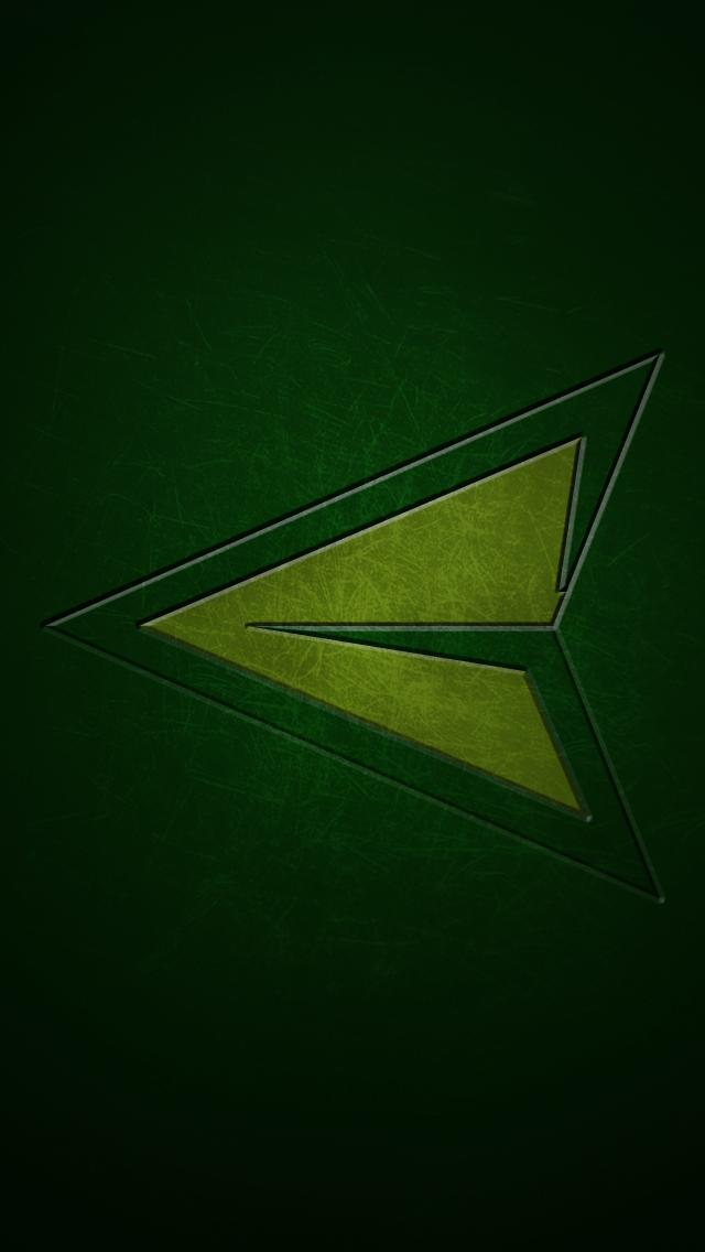 Green Arrow   iPhone 5 Wallpaper by ItsIntelligentDesign 640x1136