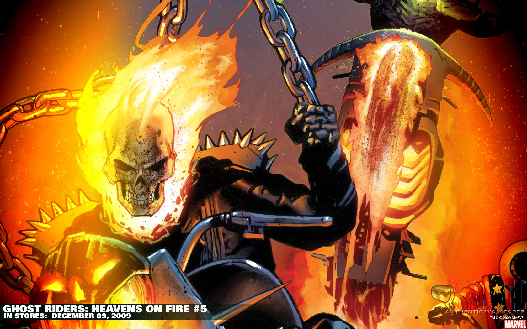 Ghost Rider Wallpaper 1680x1050 Ghost Rider Marvel Comics 1680x1050