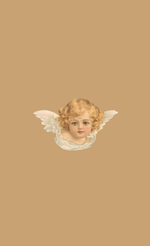cherub wallpaper made by moi Angel wallpaper Cute wallpapers 1571x2563