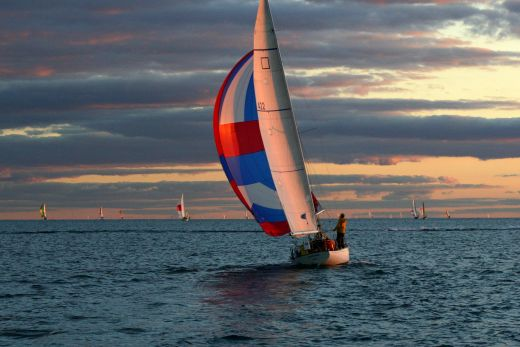 Racing Sailboats Wallpaper Byc long distance race