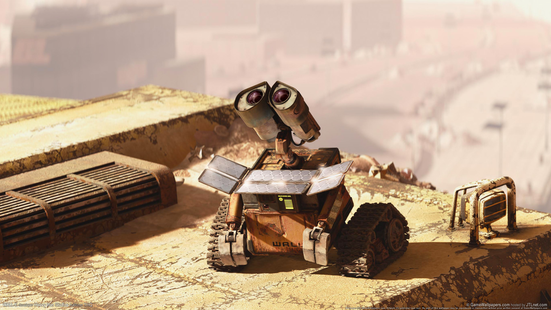 Free Download Wall E Images Wall E Hd Wallpaper And Background