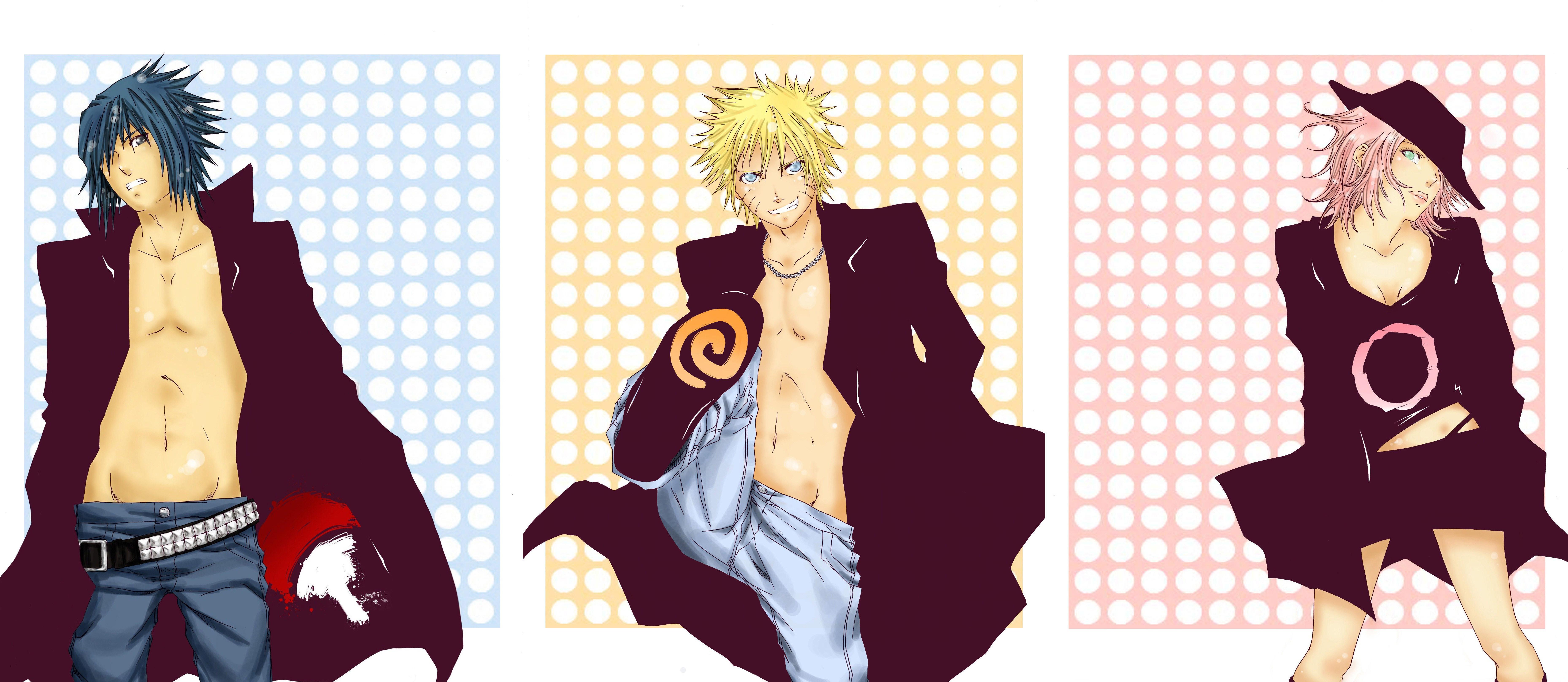 Sasuke Naruto Sakura Wallpaper   ForWallpapercom 7431x3231