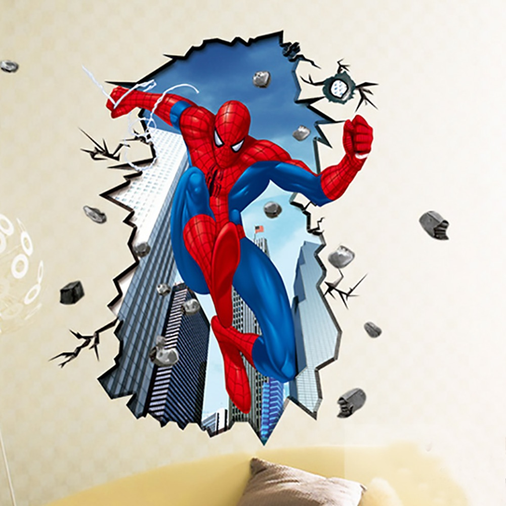Spiderman Wallpaper For Bedroom: Spiderman Wallpaper For Kids Room
