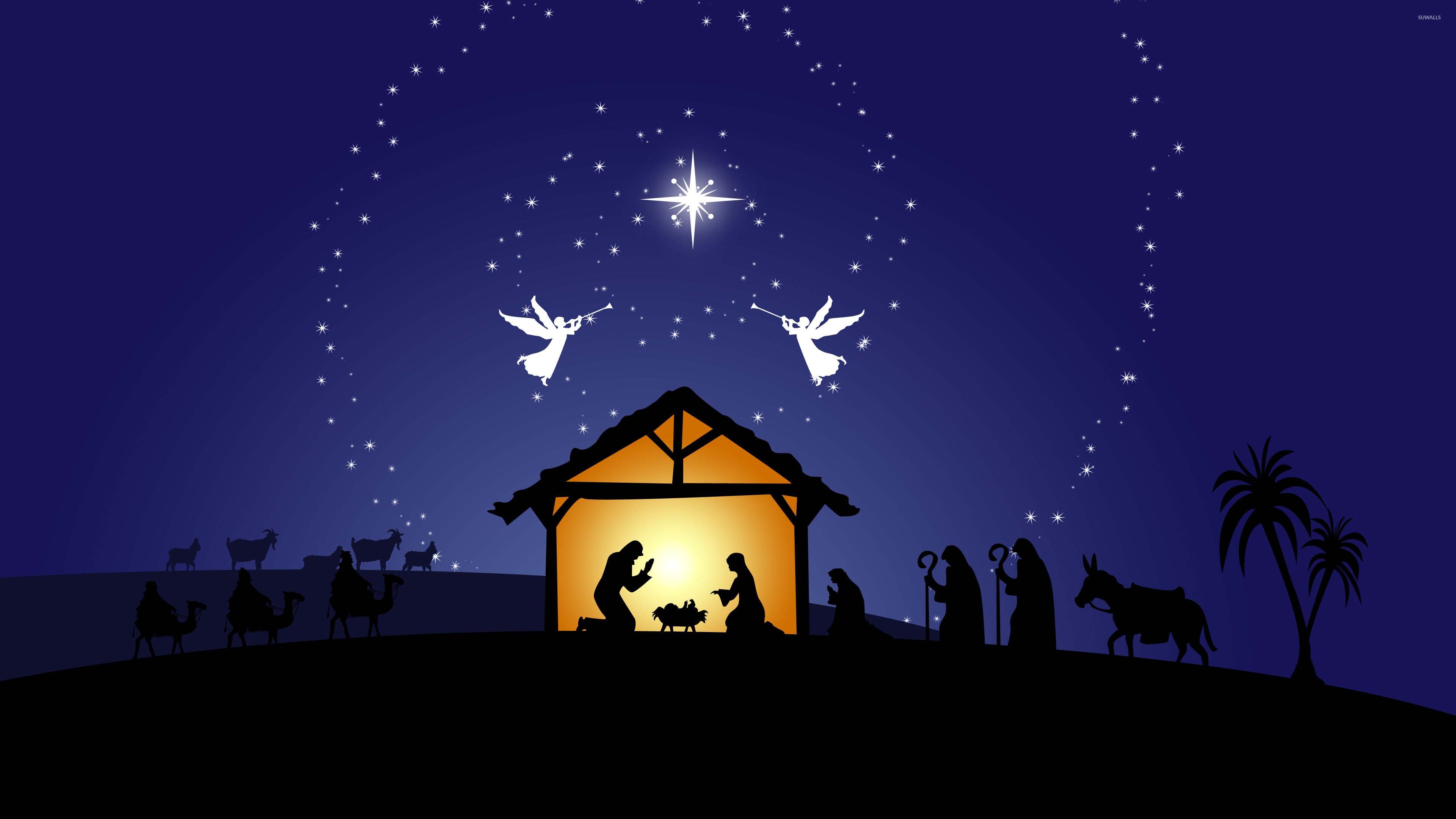 group of realistic nativity hd wallpaper widescreen 1920x1080