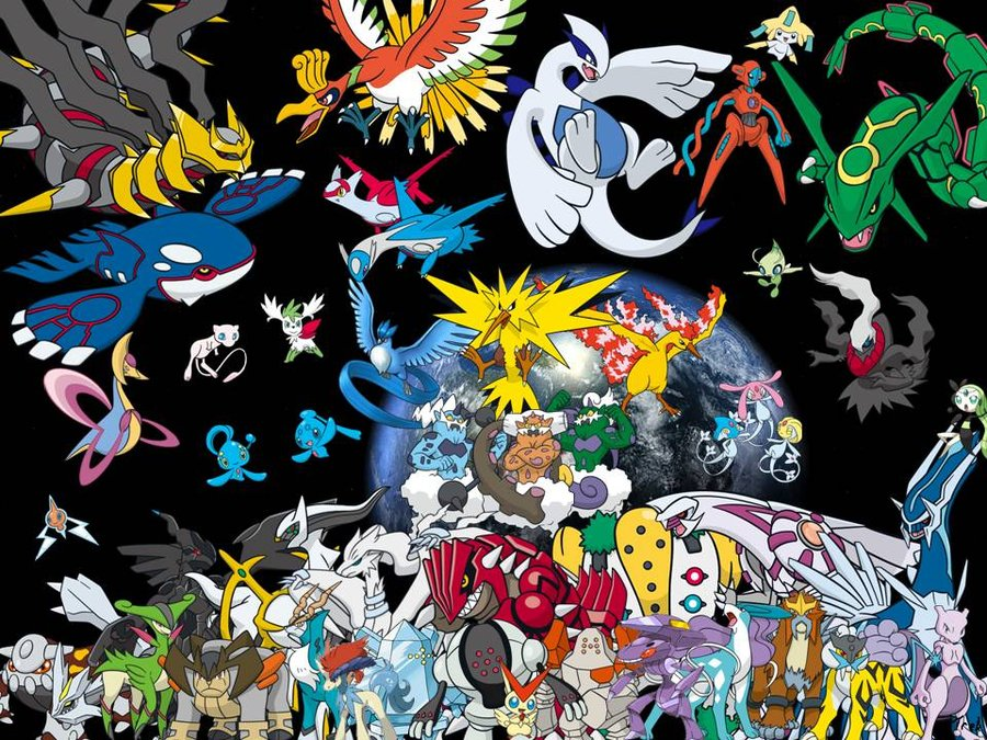 All Legendary Pokemon Wallpapers 900x675
