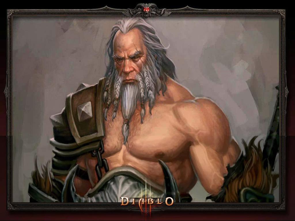 Diablo 3 Wallpaper Barbarian 5875 Hd Wallpapers in Games   Imagesci 1024x768