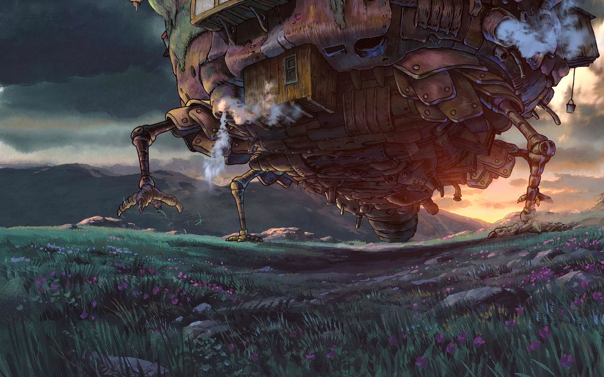 Studio Ghibli Wallpaper 2560x1600 Studio Ghibli Anime Howls Moving 2560x1600
