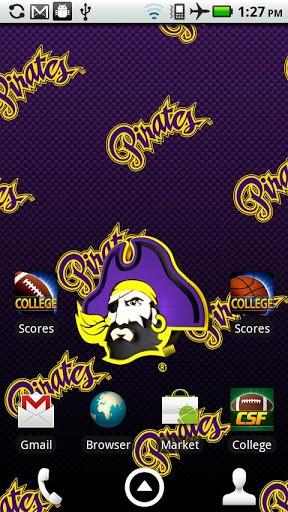 View bigger   ECU Pirates Live Wallpaper HD for Android screenshot 288x512