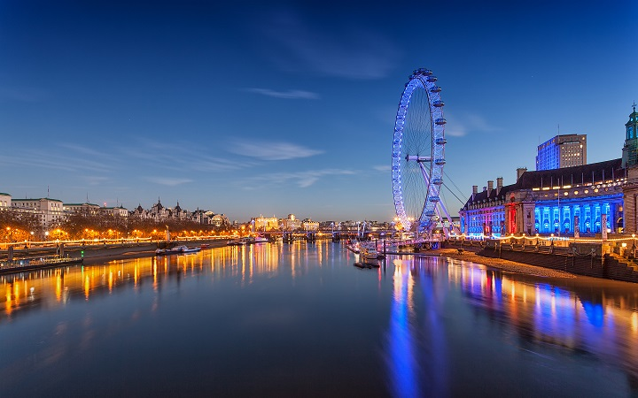 An HD background that takes a stunning look at London 720x450