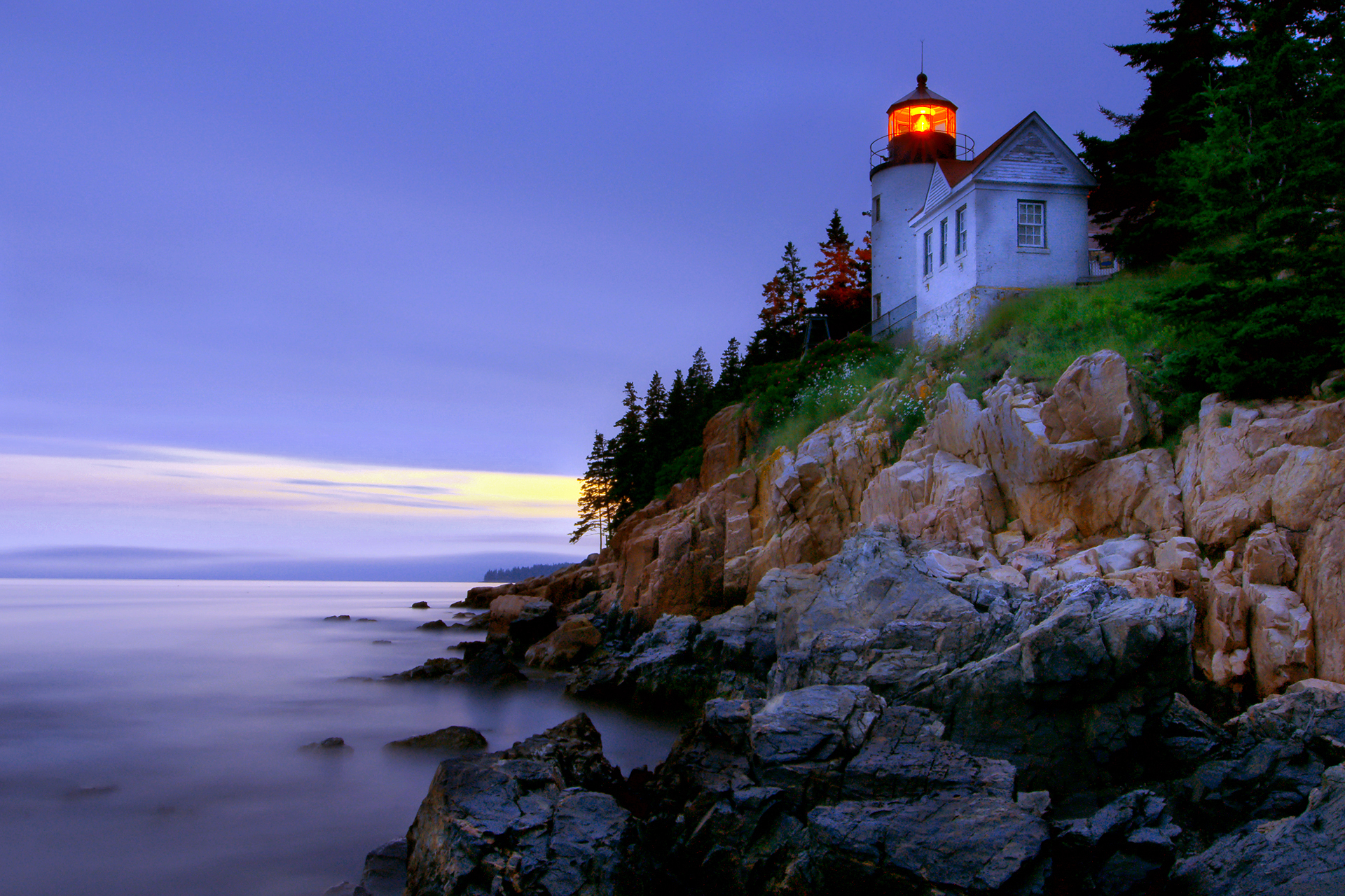 Fall Lighthouse Desktop Wallpaper Wallpapersafari