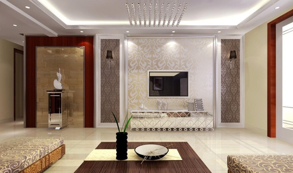 50 Living Room Wallpaper Design On Wallpapersafari