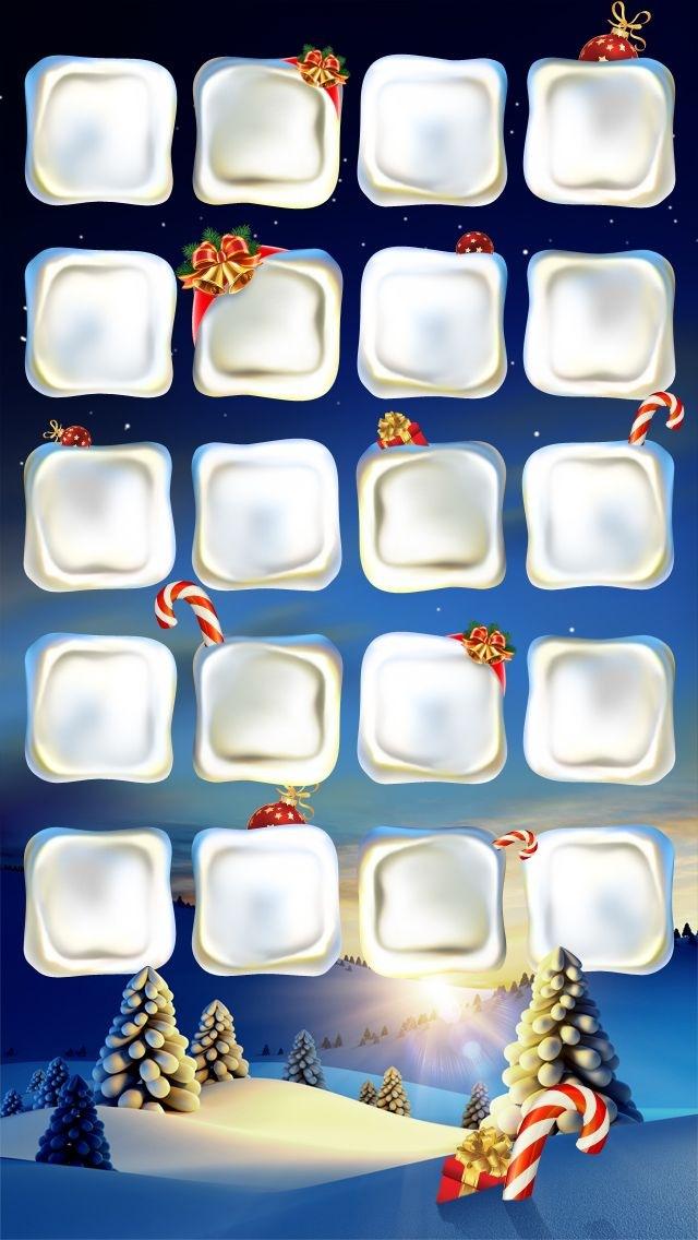 Cool Christmas Homescreen Wallpaper 640x1136