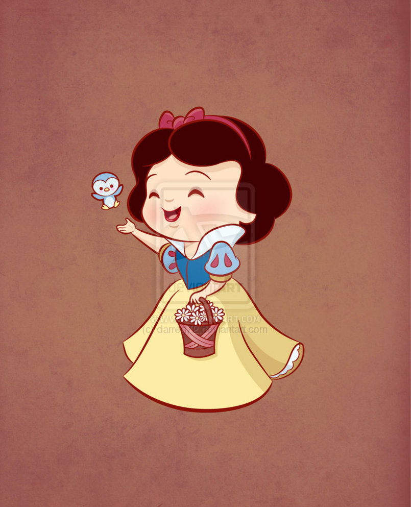 Kawaii Princess Snow White by darren72 805x993
