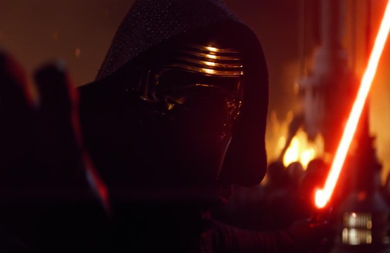 Kylo Ren Adam Driver in the most recent Star Wars Episode 7 The 785x510