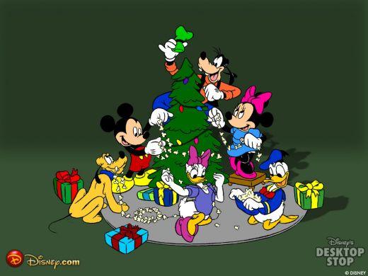 Disney Theme Wallpapers for Christmas 520x390