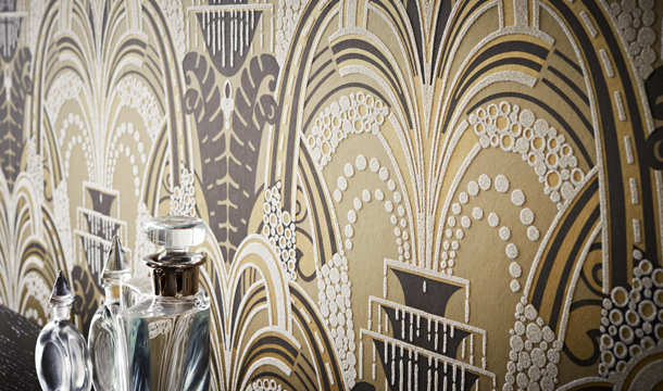 45 Art Deco Inspired Wallpaper On Wallpapersafari