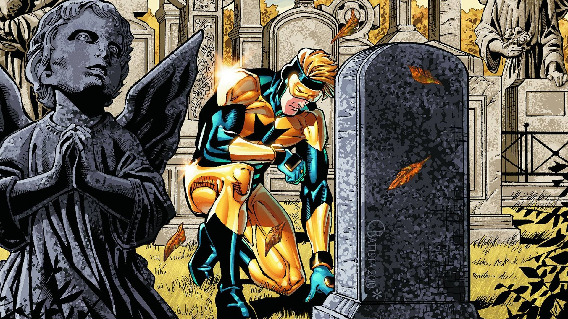 download Booster Gold wallpaper ID409048 hd 1920x1080 for 1920x1080