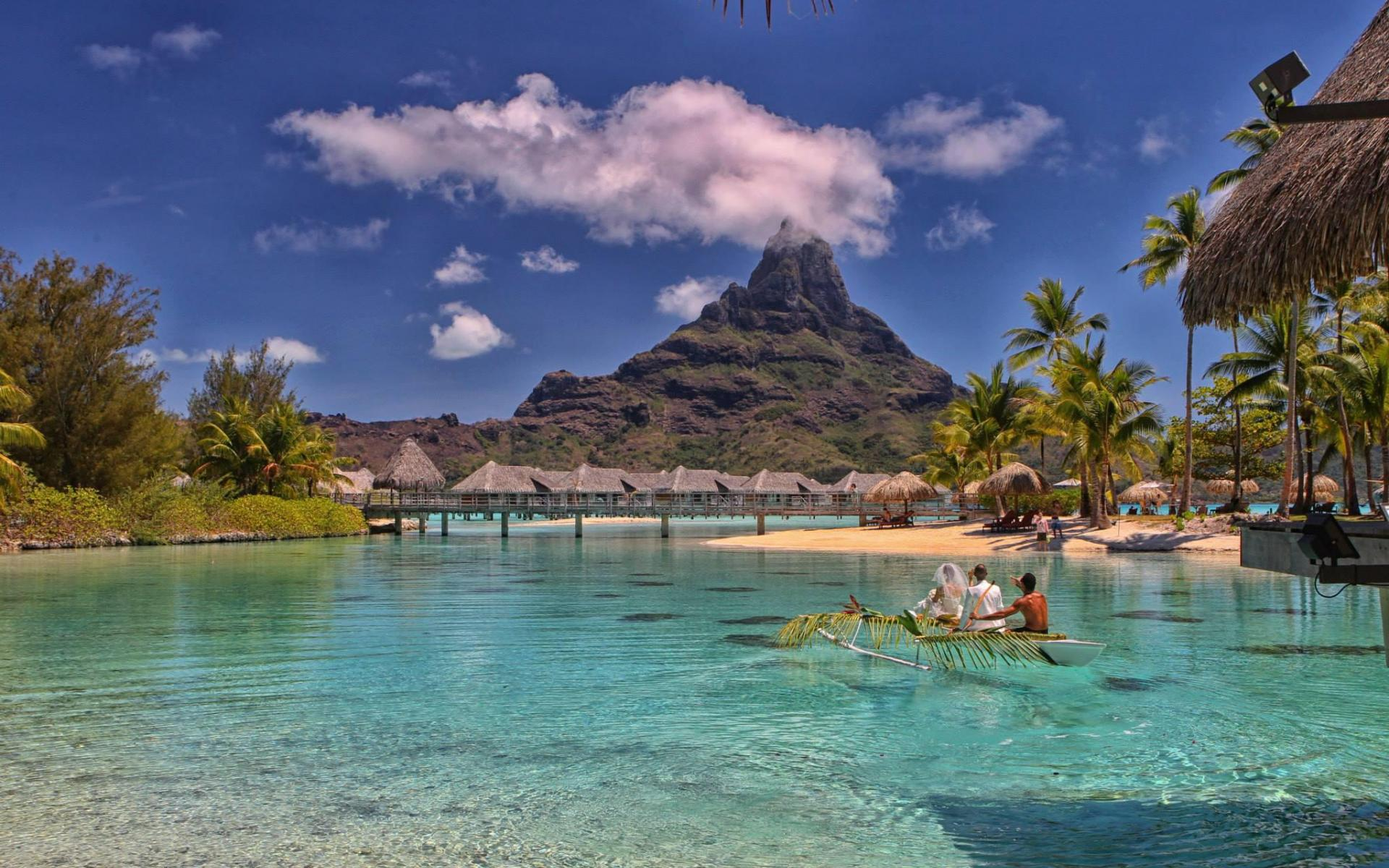 bora bora wallpaper high resolution 1920x1200