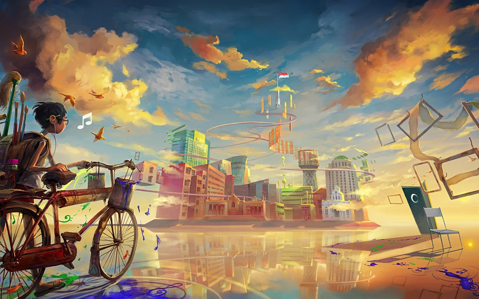 First Day School Going Drawing Art Hd Wallpaper wallpaperspickcom 1600x1000