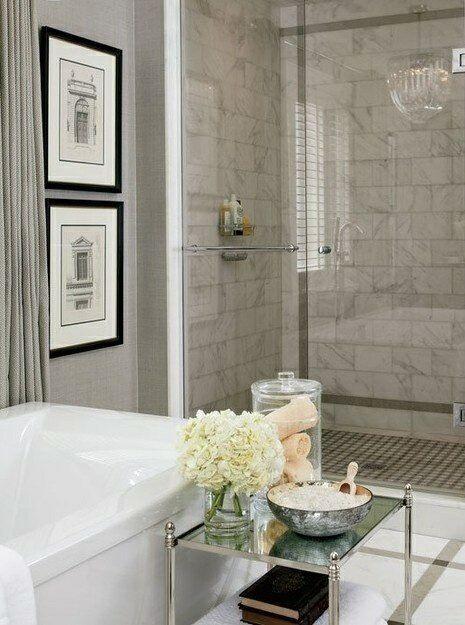 44 bathroom wallpaper that looks like tile on