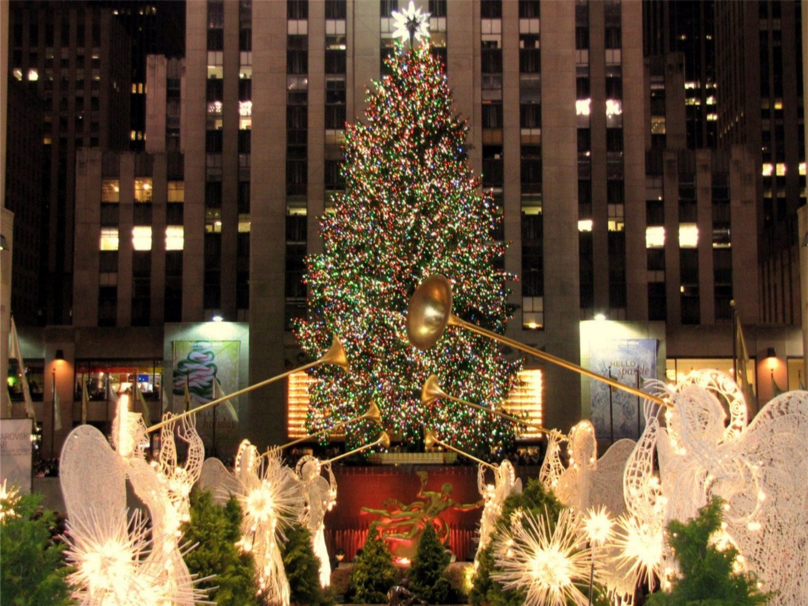 New York City Christmas Wallpaper submited images 1600x1200