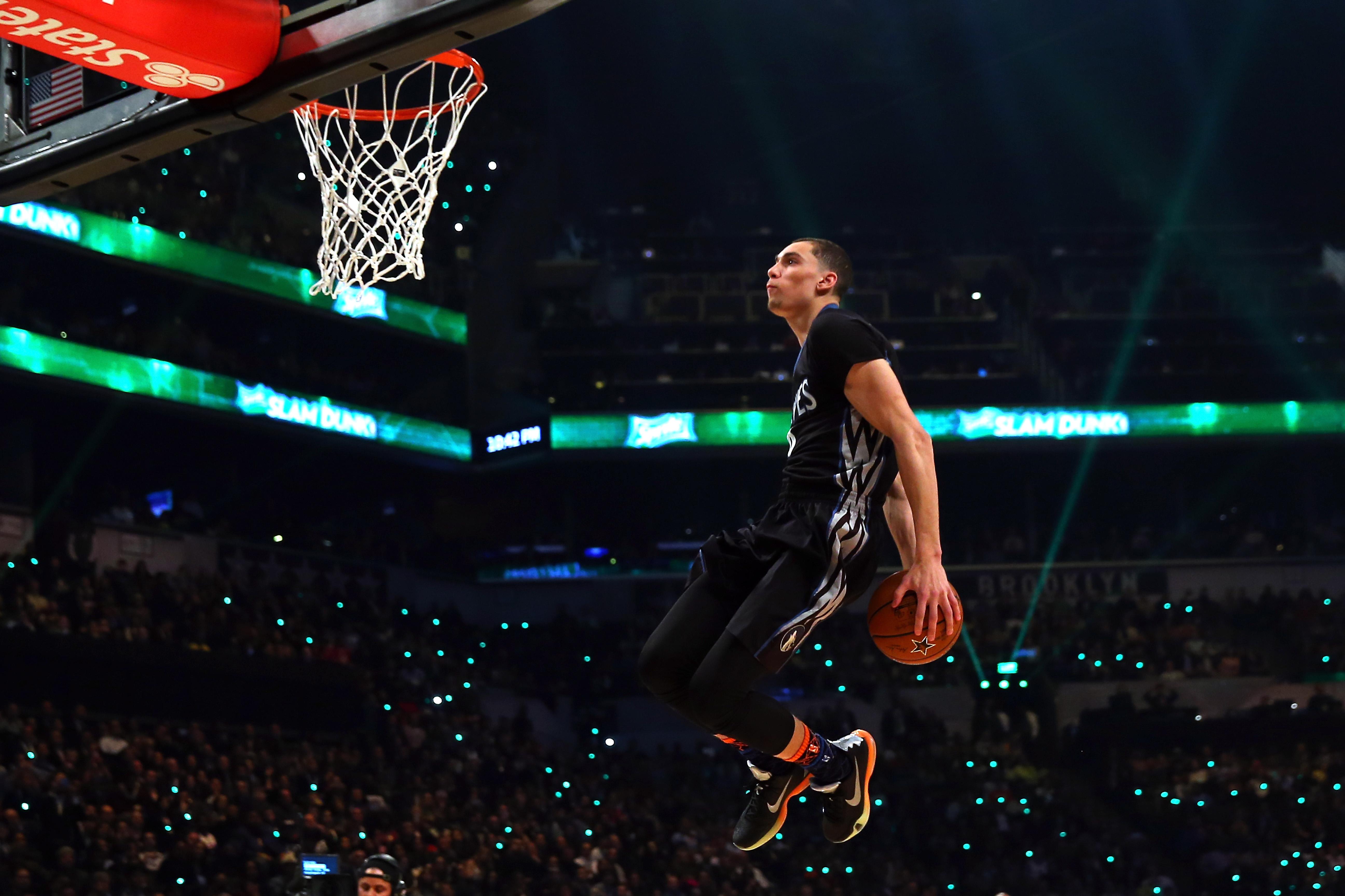 Watch all of Zach LaVines NBA Dunk Contest tries SIcom 5184x3456