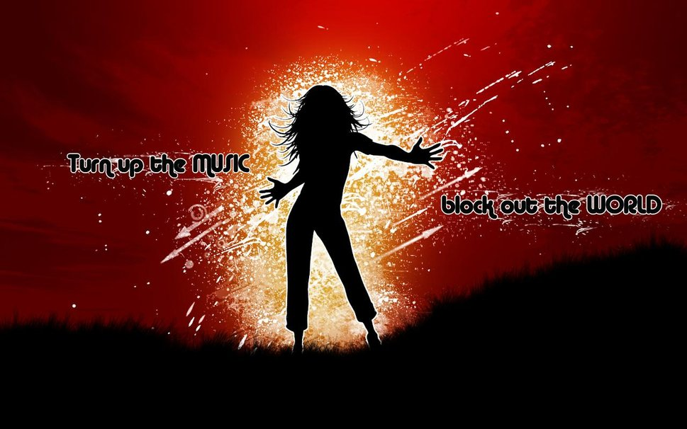 Free Download Turn Up The Music Wallpaper Forwallpapercom